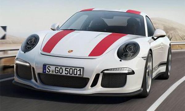 Рассекречен дизайн спортивного купе Porsche 911 R