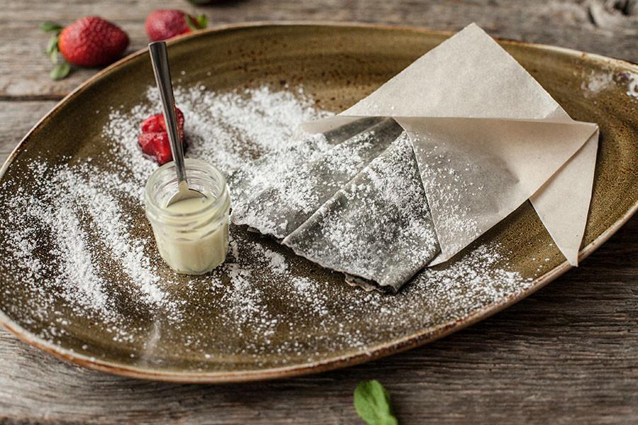 Десерт — Налистники с маком