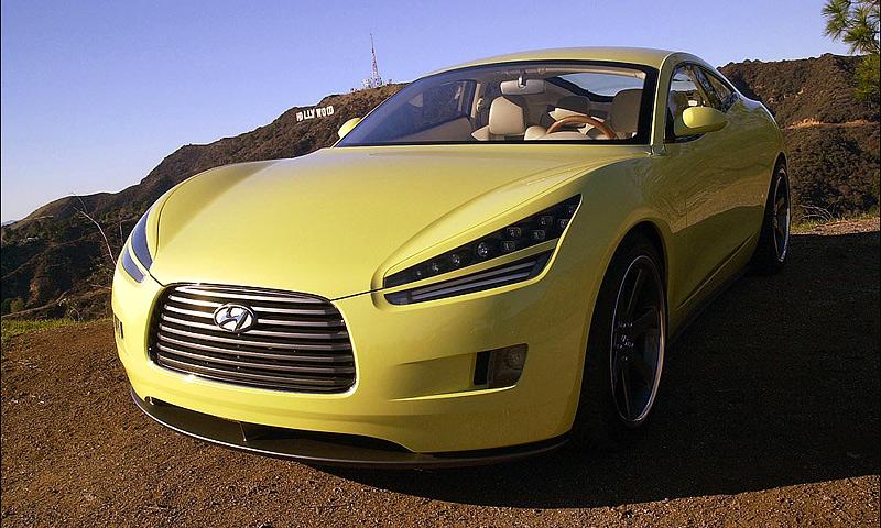 Hyundai привезет в Детройт концепт HCD-9