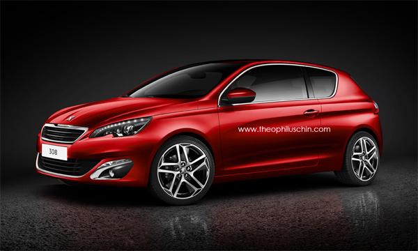 Новый Peugeot 308 получит трехдверную версию