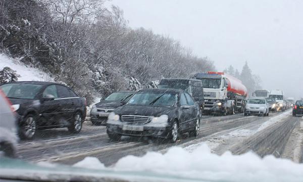 Водителей предупредили о пробках на трассе М4 «Дон»