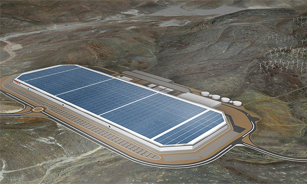 Tesla запустила производство литий-ионных батарей