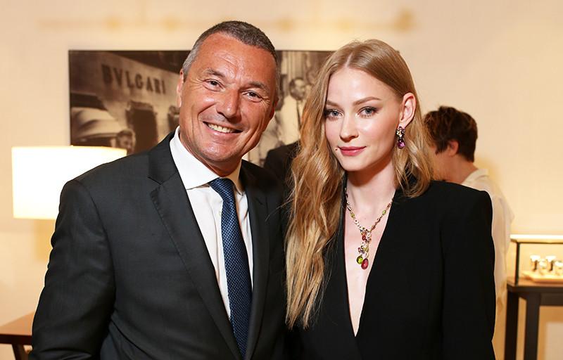 Жан-Кристоф Бабен и Светлана Ходченкова