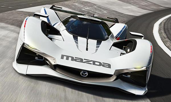 Mazda представила виртуальный концепт LM55
