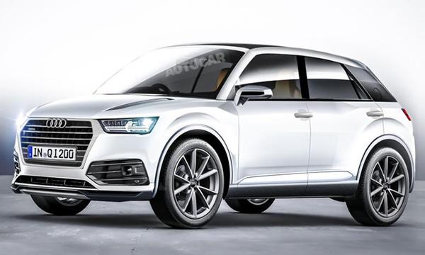 Новый кроссовер Audi Q1 представят в следующем году