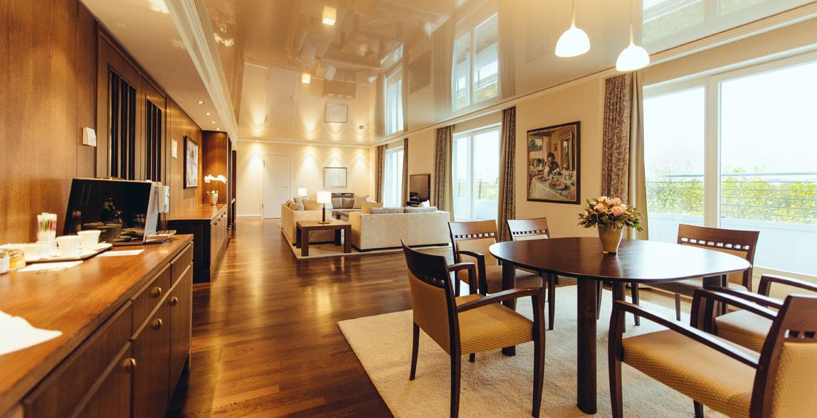 Grande Suite в отеле The Grand Elysée