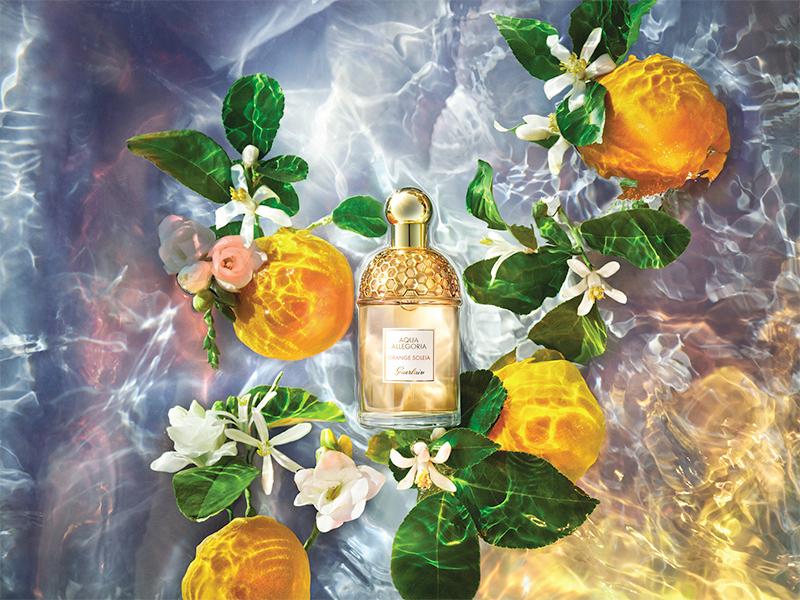 Аромат Orange Soleia, Aqua Allegoria, Guerlain