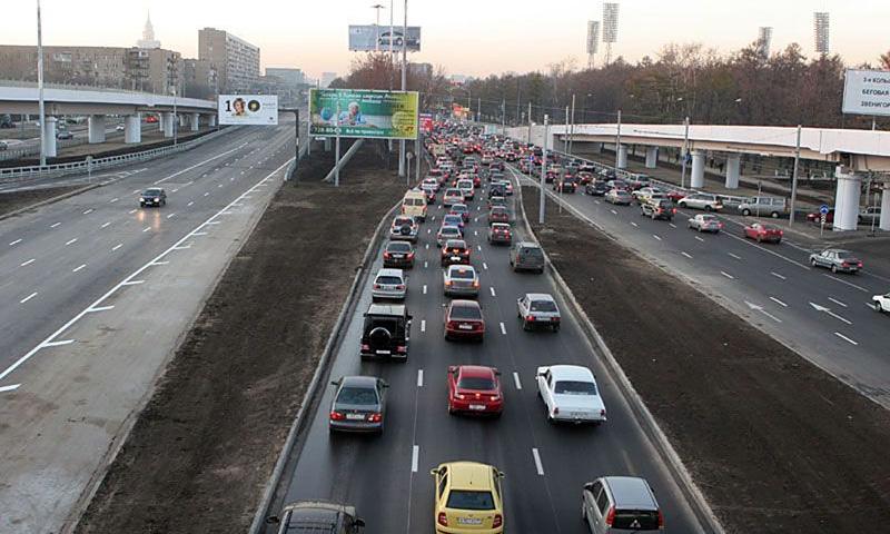 Рейтинг самых глупых дорог Москвы