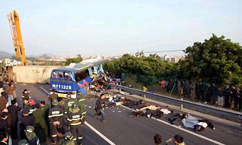 В Малайзии и Китае произошли серьезные ДТП с автобусами