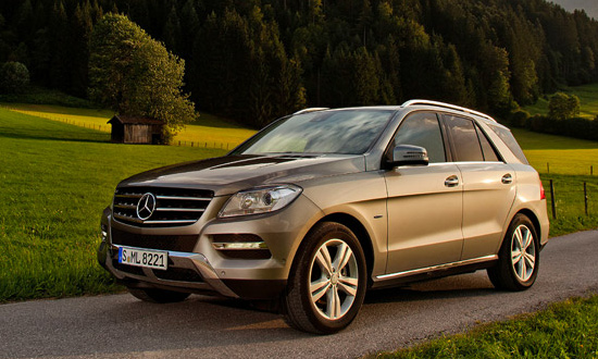 Mercedes-Benz ML 500 BlueEfficiency