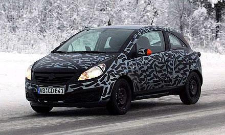Новый Opel Corsa проходит последние тесты