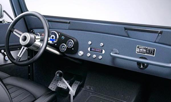 Опубликован первый снимок интерьера модернизированного ГАЗ-69
