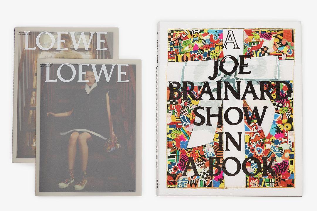 Книга с работамиДжо Брейнарда от Loewe