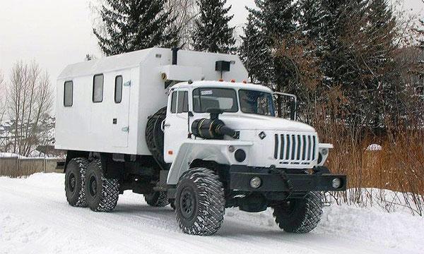 В России появились бани на колесах