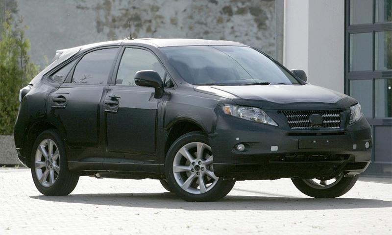 Получены шпионские фото прототипа Lexus RX