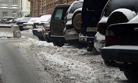 В Москве запрещают парковку у обочины