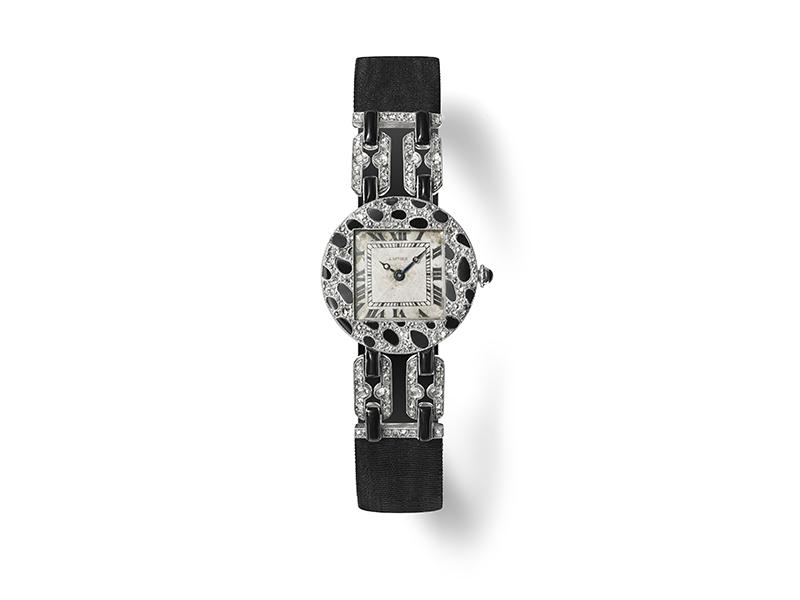 Женские часы Cartier, 1914 год
