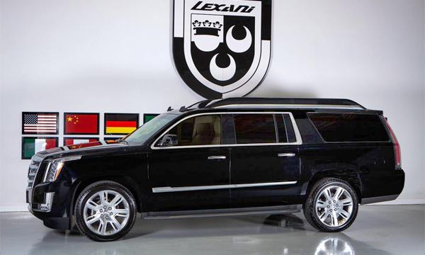 Компания Lexani Motorcars доработала Cadillac Escalade