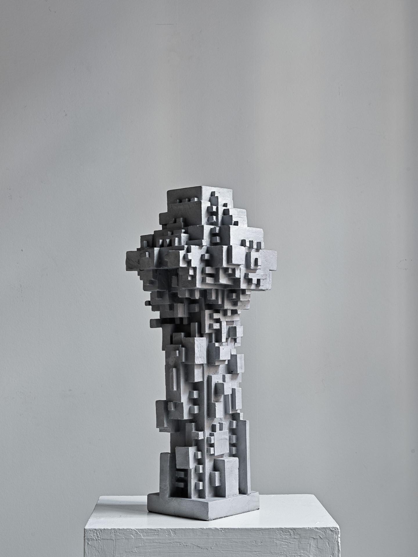 Скульптура «Город», Игорь Шелковский, 2020, Alina Pinsky Gallery. Международная ярмарка современного искусства Cosmoscow 2020