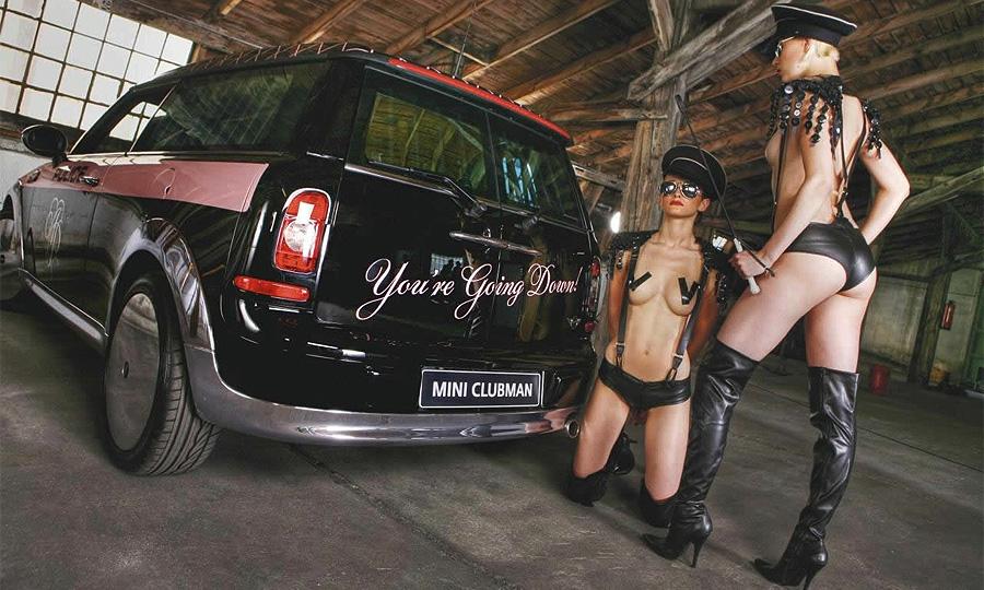 MINI представил спецверсию Clubman в стиле садомазо
