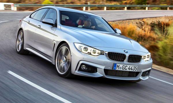 BMW назвала российские цены 4-Series Gran Coupe