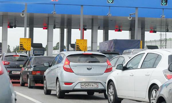Участок трассы М4 в объезд Богородицка стал платным
