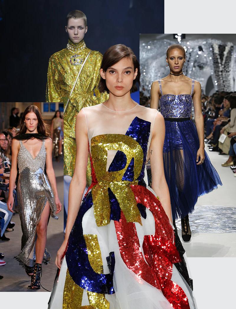 Модели с показов Gucci; Dior; Altuzarra; Oscar de la Renta