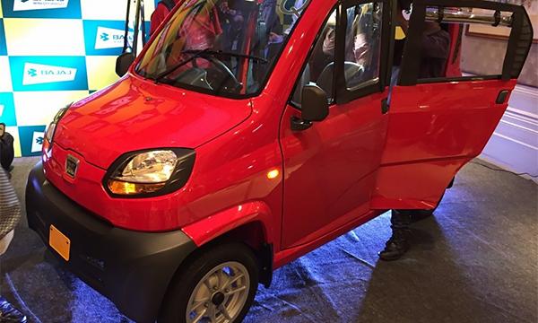 В России Bajaj Qute переделают в автомобиль для инвалидов