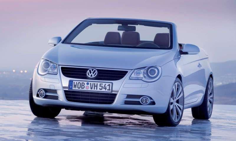 VW объявил цены на купе-кабриолет Eos