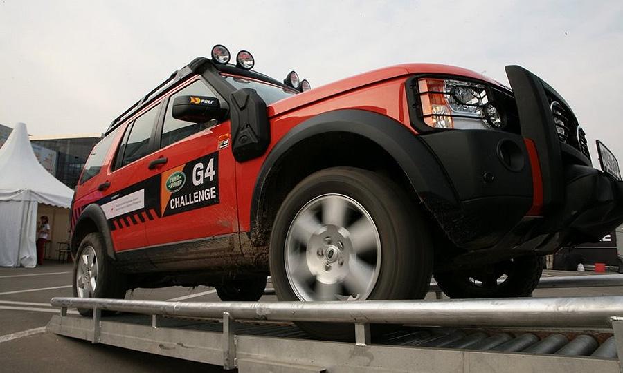 В Москве прошел отборочный тур Land Rover G4 Challenge 2008/2009