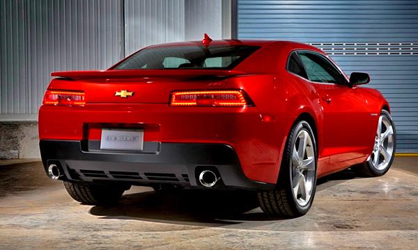 Chevrolet Camaro стал мощнее на 31 лошадиную силу