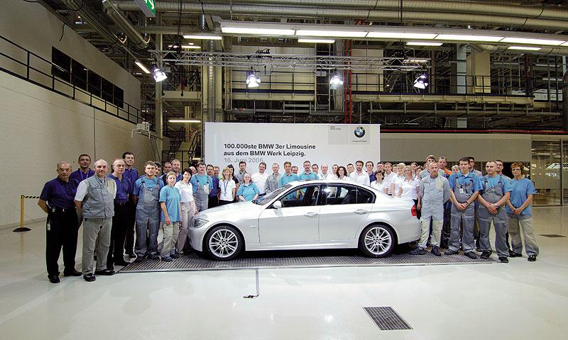 В Лейпциге с конвейера сошел 100 000-й BMW 3 серии
