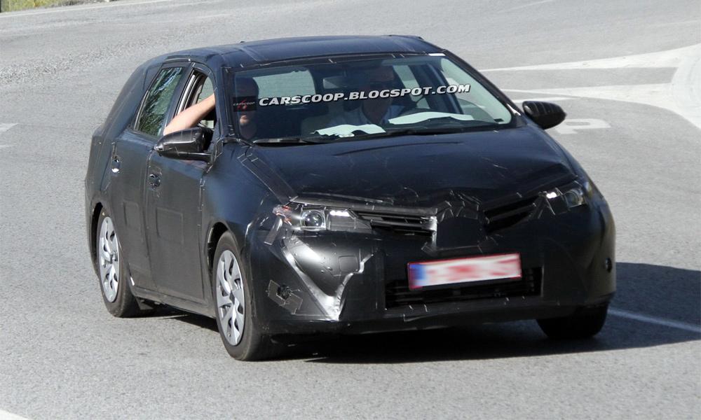 Toyota тестирует универсал Auris на дорогах Европы