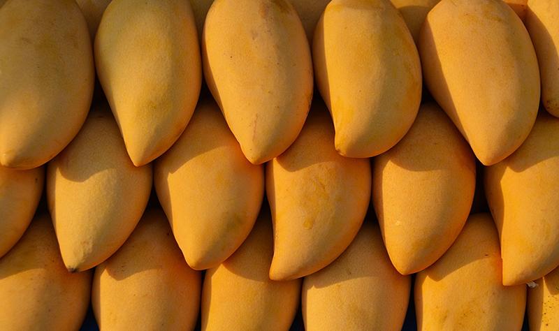 В манго содержится много витамина C