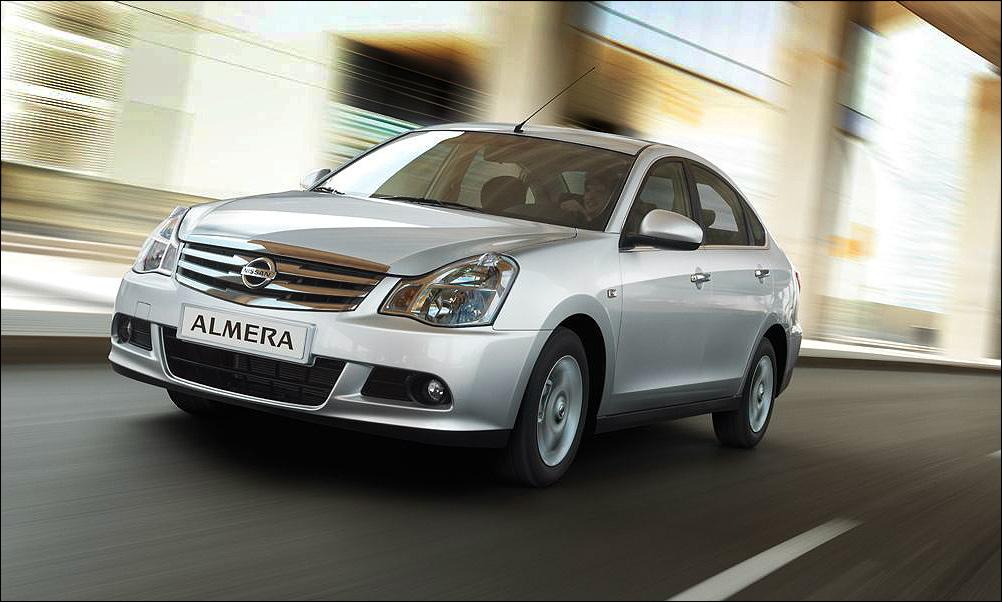 Nissan Almera - меньше 600 тысяч рублей
