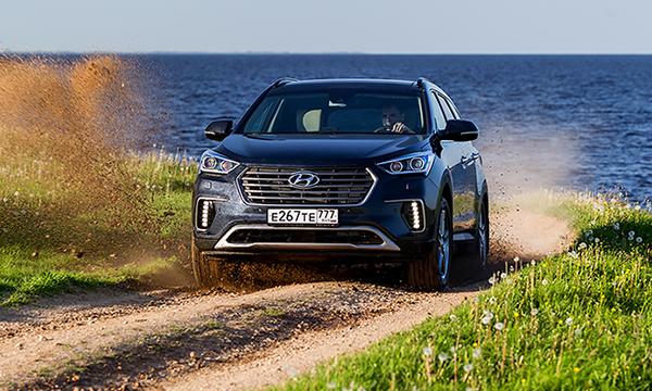 В Россию без колебаний. Тест-драйв Hyundai Grand Santa Fe
