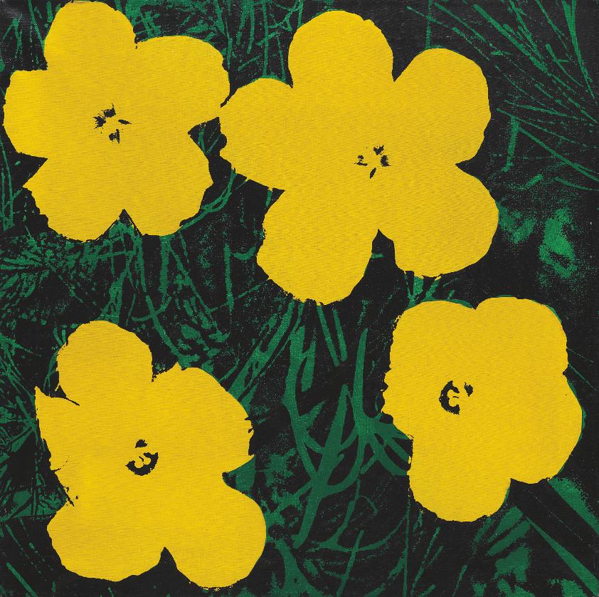Элен Стюртевант. Этюд к «Цветам», 1964-65