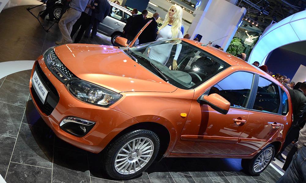 Началось производство Lada Kalina второго поколения