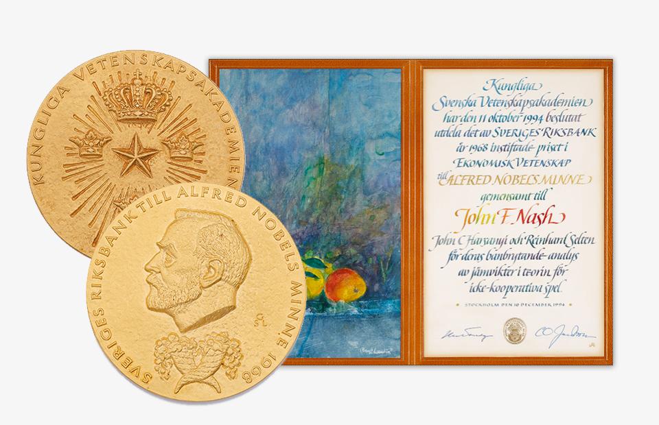 Сколько стоит Нобелевская медаль?