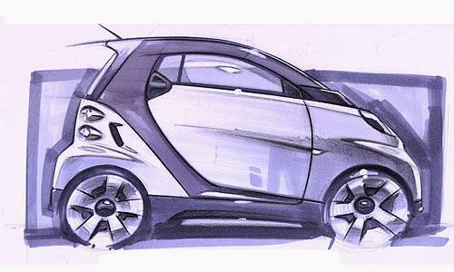 DaimlerChrysler откладывает дебют Smart Fortwo