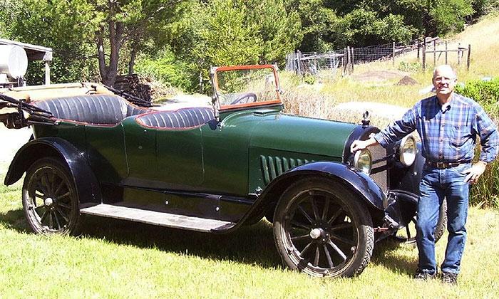 Chevrolet V8 Touring Car 1918 года
