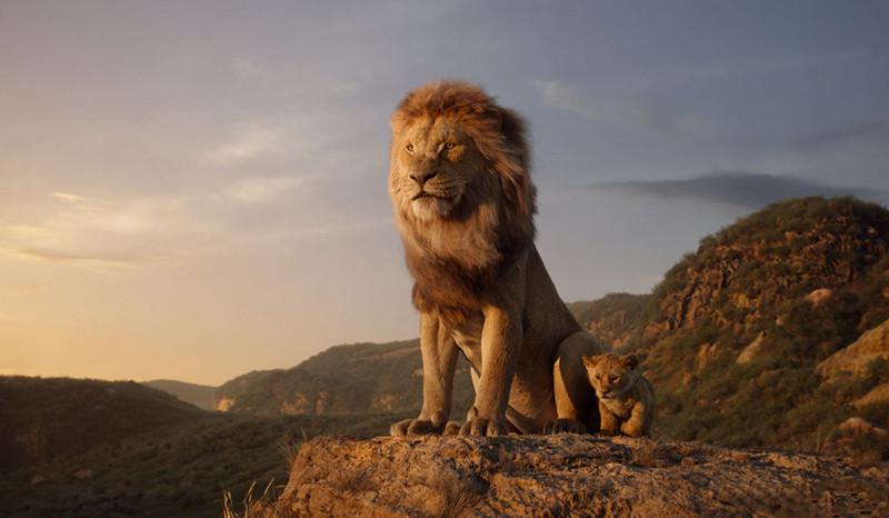 Кадр из фильма«Король Лев»