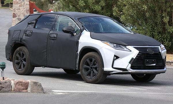 Продажи семиместного кроссовера Lexus RX начнутся в конце 2016 года