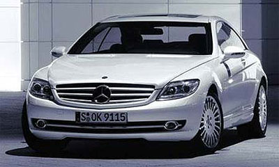 Mercedes опубликовал первые фото нового купе CL