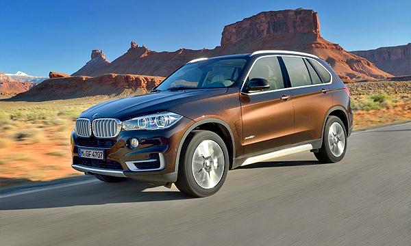 BMW рассекретил новое поколение X5