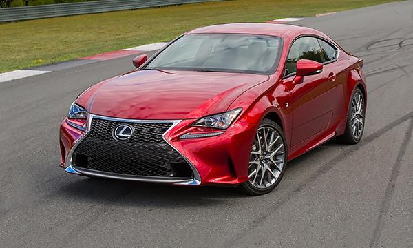 Купе Lexus RC получило новый турбомотор