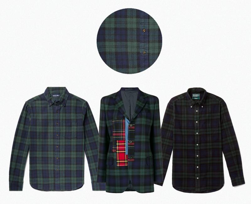 Мужская рубашка Alex Mill (Mr. Porter) ₽11 093 Женский пидажк Ermanno Scervino (Farfetch) ₽109 302 Мужская рубашка Gitman Vintage (Mr. Porter) ₽14 671