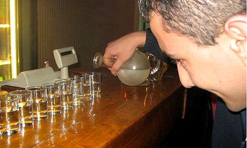 Красноярские гаишники напоили водителя в качестве эксперимента