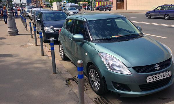 В районе «Москвы-Сити» парковаться стало легче
