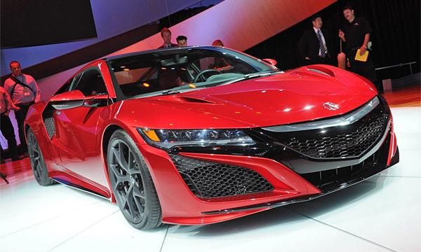 Спорткар Acura NSX получит «заряженную» версию